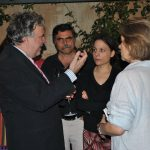 Foreign correspondents with the Minister of Labour, Social Security and Social Solidarity